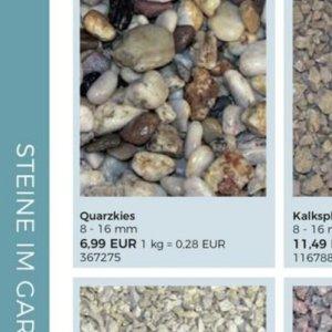 Steine bei BBM Baumärkte