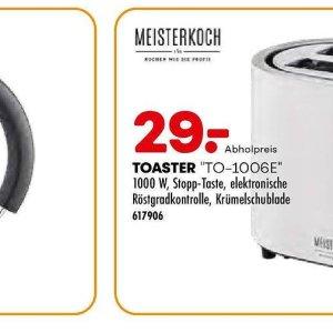 Toaster bei Möbel Kraft