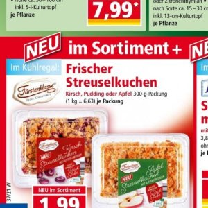 Pudding bei Norma