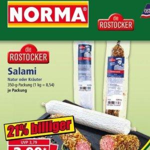 Salami bei Norma