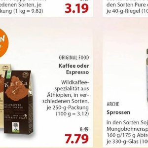 Kaffee bei basic Bio