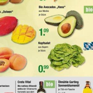 Kopfsalat bei V-Markt