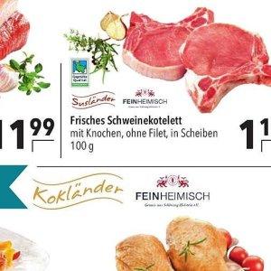 Schweinekotelett bei Citti Markt