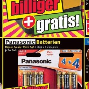 Batterien bei Norma