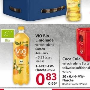Limonade bei Selgros
