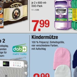 Kindermütze bei V-Markt