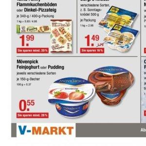 Pudding bei V-Markt