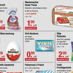 Bonbons bei V-Markt