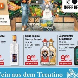Tequila bei V-Markt