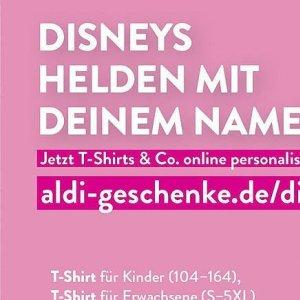 T-shirts bei Aldi SÜD