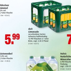 Limonade bei Marktkauf